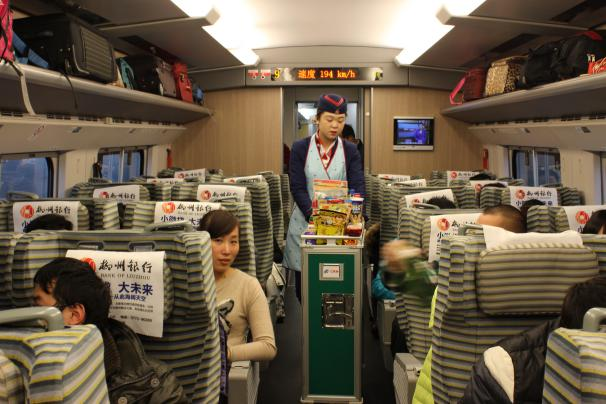 The box meal sold on high-speed train